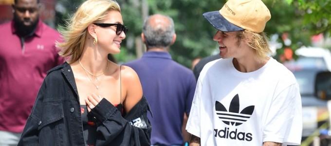 FOTOS: Hailey Baldwin passeando com Justin Bieber por Nova York