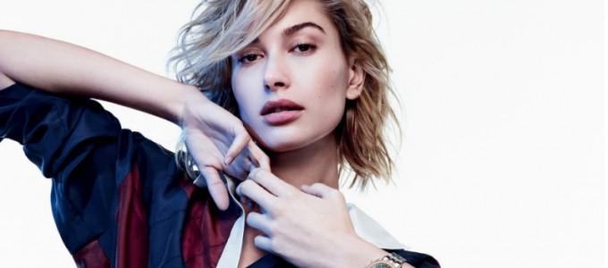Hailey Baldwin é anunciada como rosto da coleção de relógios e jóias da Tommy Hilfiger