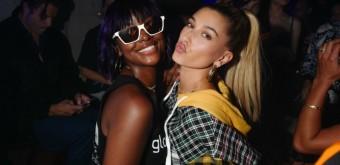 FOTOS & VÍDEOS: Hailey Baldwin na festa de lançamento da Tommy Hilfiger X Lewis Hamilton