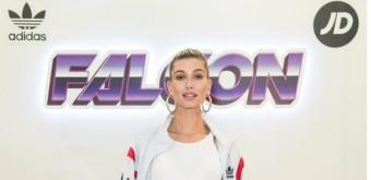 Hailey Baldwin comanda o desfile da Adidas X JD Sports na Semana de moda de Londres