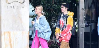 FOTOS & VÍDEOS: Hailey e Justin Bieber vão a Miami para a 'VOUS Conference'