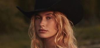 Hailey Bieber em editorial para Vogue US
